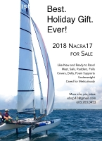 Get Foiling! Like-New, 2018 Nacra-17 for Sale